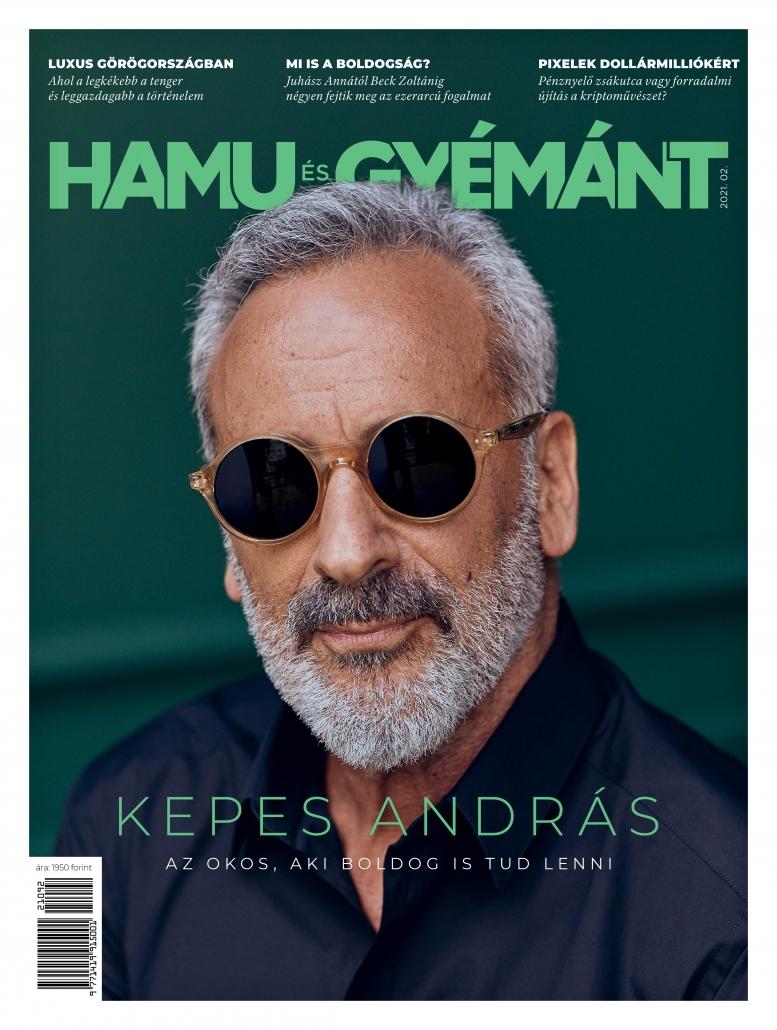 Kepes András a Hamu és Gyémánt magazinban